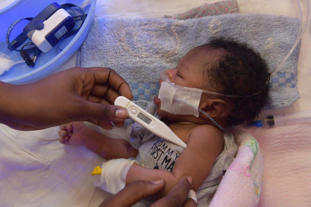 Help Save Newborns in Haiti