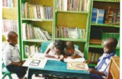 provision of a community children library in Karu.