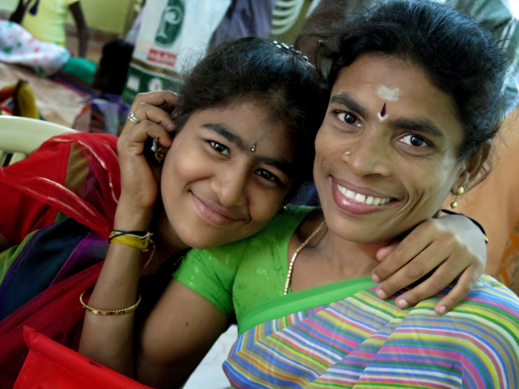 Aarthi and her mum reconciled