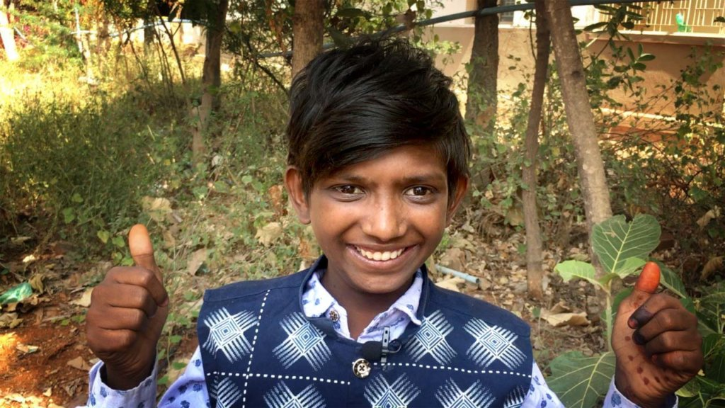 "Marudhan - ""Thanks for giving me a future!"""