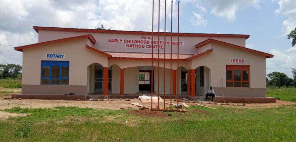 Nathoo ECD Centre is almost complete (Butende, UG)