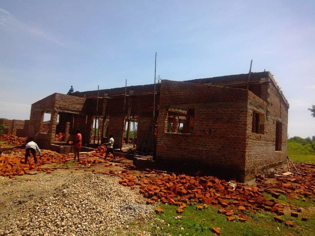 1 of 4 Uganda ECD Centres under construction