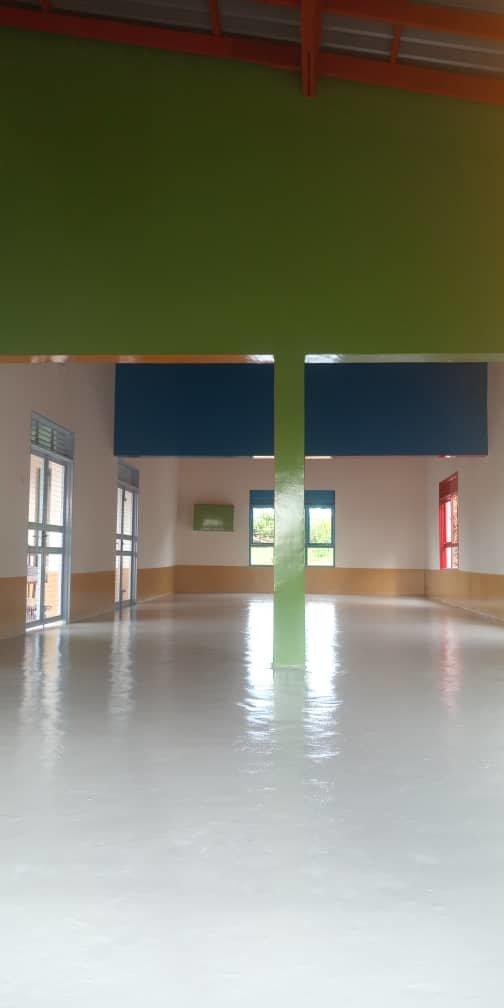 Inside the new Jiwan Abji ECD Centre (Kanunga, UG)