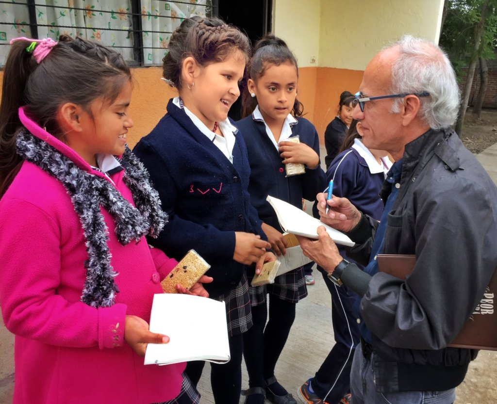 Help children become book lovers in rural Mexico