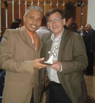 Our Directors with Award Premio a la Conciencia