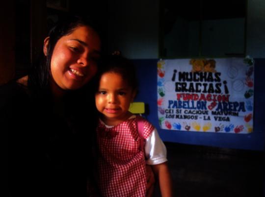 Josabet and her baby Aranza