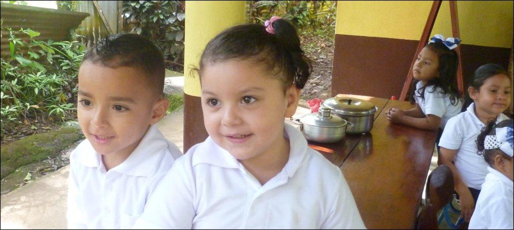 Children waiting for preschool class