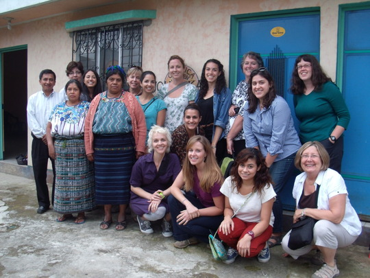 Talking about problems diabetics face in Guatemala