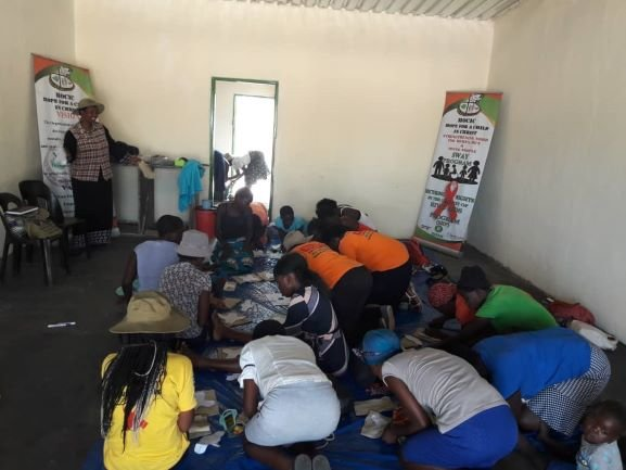 Reusable Pads Training for Young Women in Matobo