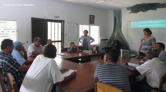 Livestock farmer forum at Ya'axche's Field Center