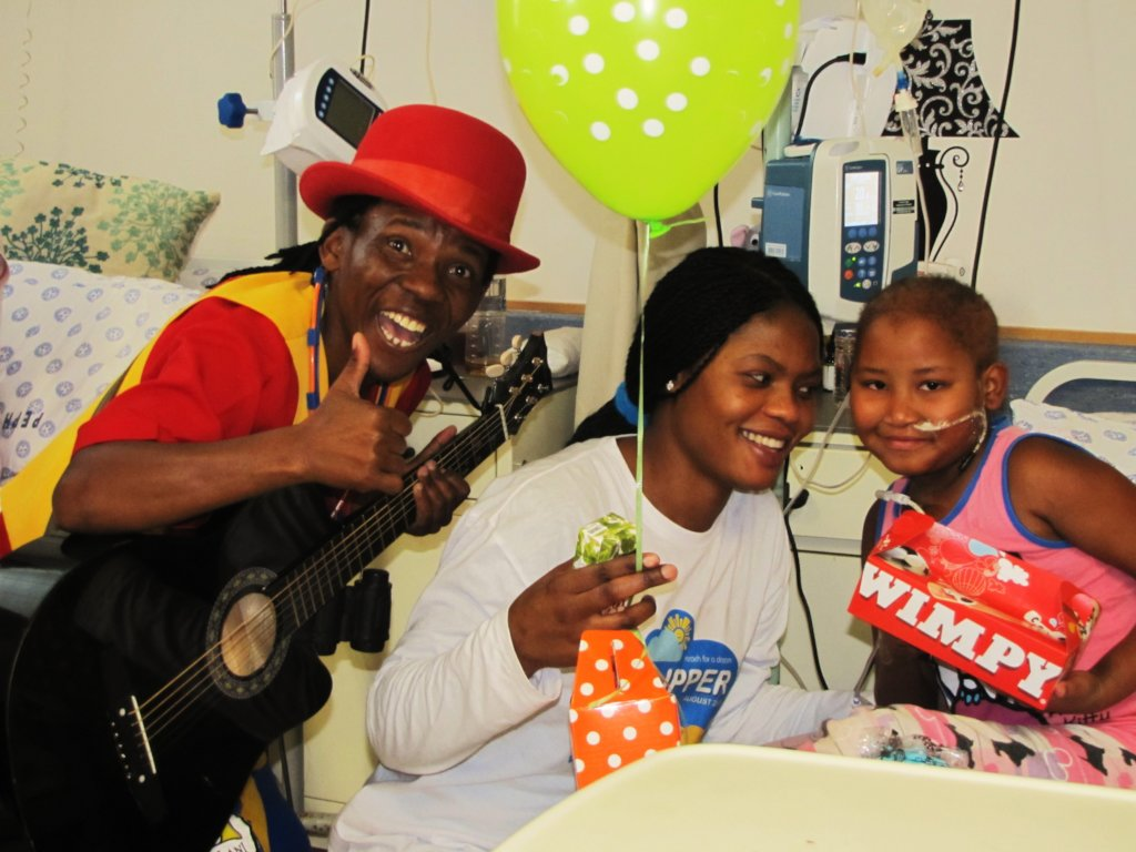 Help Heal Children in Hospital - Jabulani Kingdom