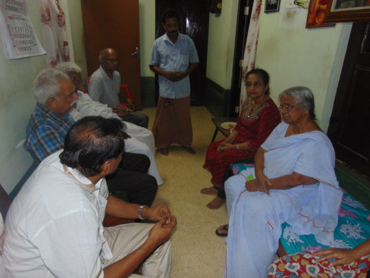 Discussion with Panchayath President