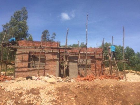 Gisiza HP under construction