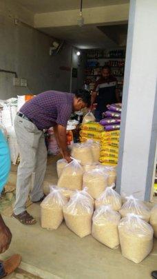 rice packing