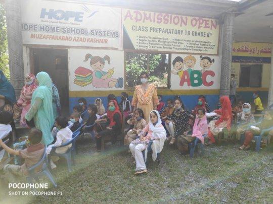 Dr. Mubina Visits Students in Kashmir