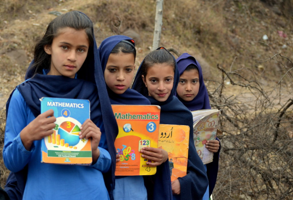 Educate a Girl in Kashmir