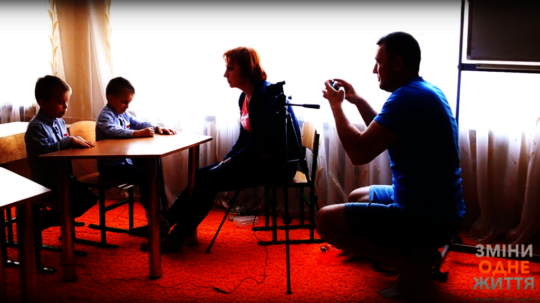 Video production of orphans' videoprofile