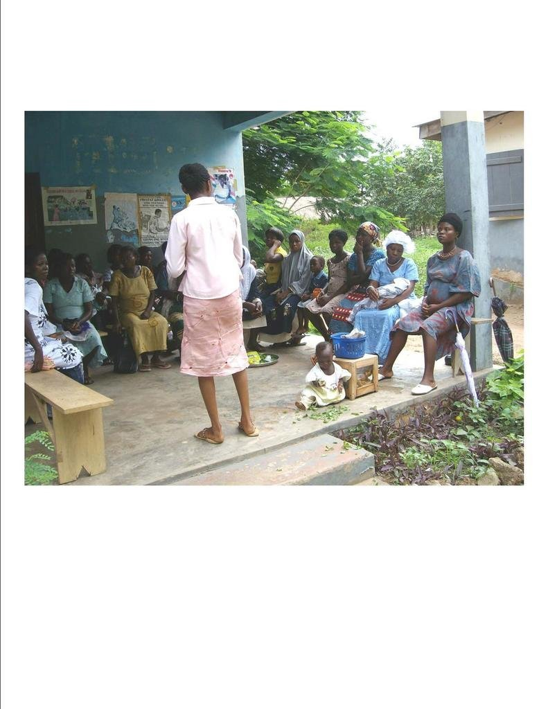 Improve Maternal and Child health in Ave, Ghana
