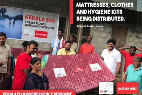 Kerala devastated by floods
