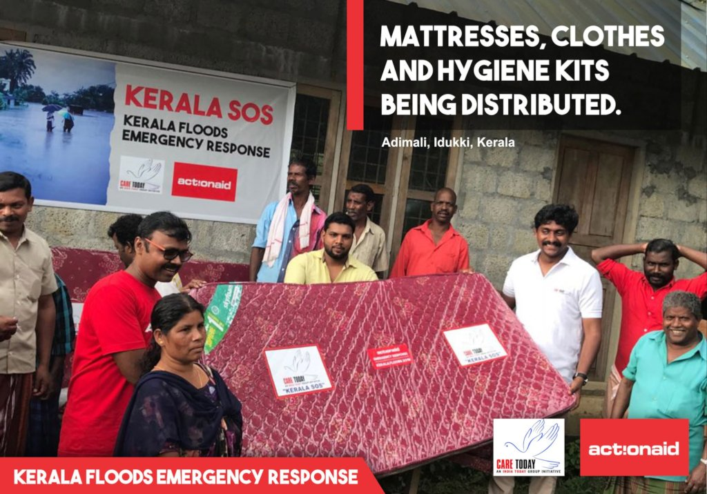Kerala devastated by floods