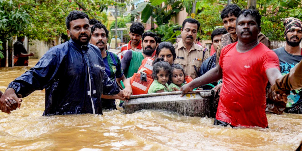 Kerala flood relief program