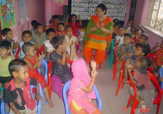 ECDE FOR 2400 POOREST CHILDREN OF BANGLADESH