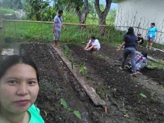 Garden Selfie!
