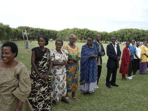 some of the women and youth (NAF beneficiaries)