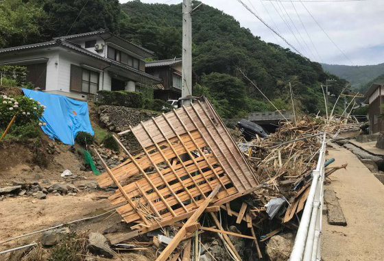 Relief Fund for Disasters occurred in Japan 2018