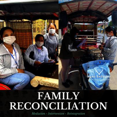 Family reconciliation.