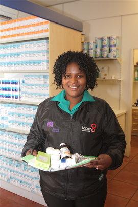 At the Topsy Clinic Pharmacy -Life Saving Medicine
