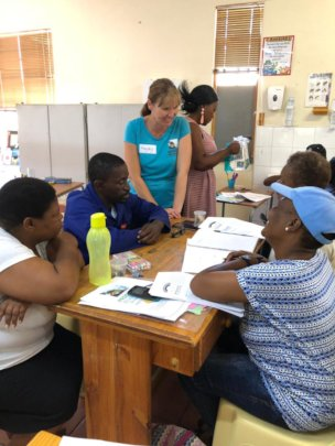 ECD Practitioners Engaged in PB Training at Topsy