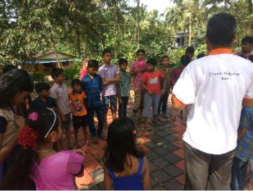 Teaching kids about hygiene challenge after floods