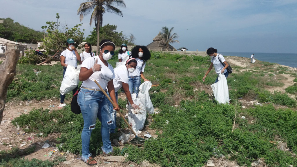 Fight plastic pollution in the bay of Cartagena