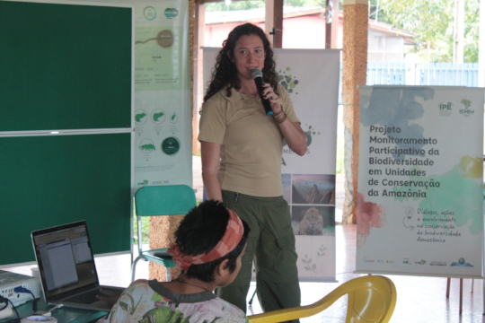Tina working in the Amazon Community