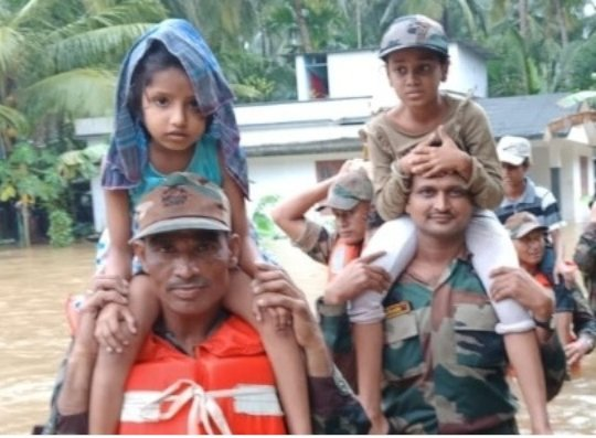 Help 1100 Students affected by Flood in Kerala