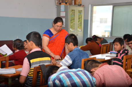 Special Education With Therapy to 100 MR Children