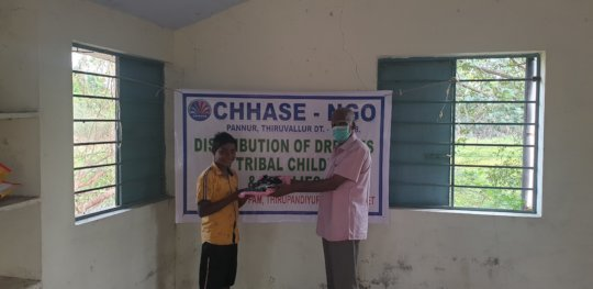 Distribution of new dresses