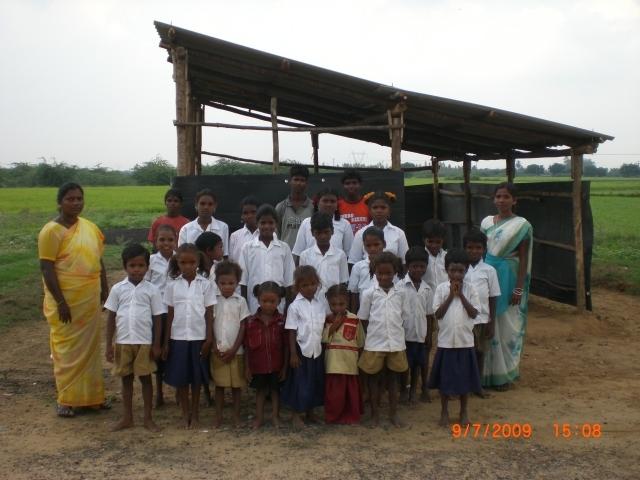 New shed at perambakkam