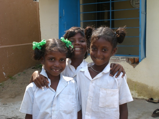 Our Children are cheerful in formal school