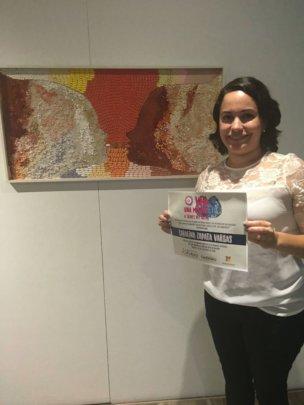 Carolina Zapata - second place