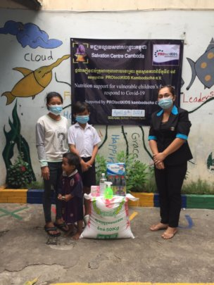 welfare support to children's family