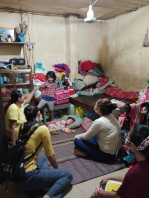 SCC teachers directly visited  children's home