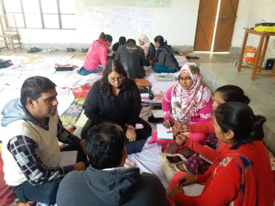 Four Day Training Workshop was held in Farrukhabad