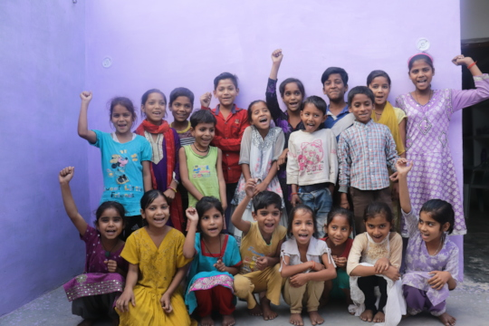 Our mission is to impact 1 Lakh children by 2025