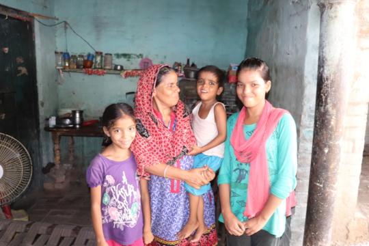 Half a Household; Raimi, Ayaan & Iram with Khairun