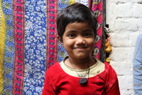 Mahim (5) is studying in Std 1 of our program