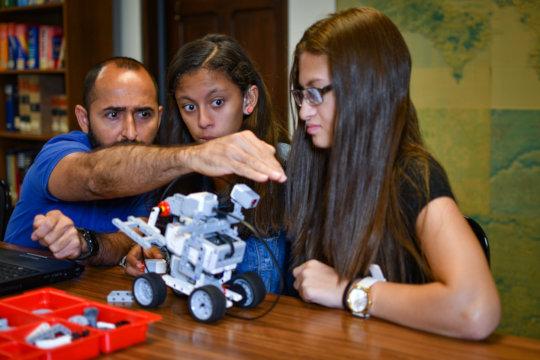 Robotics learning experience