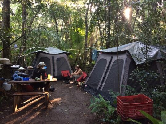 Release site camp