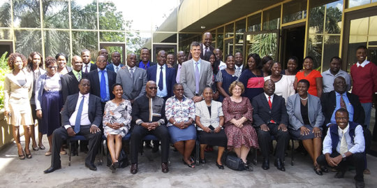 Zimbabwe Officials at Conflict Training by Landesa